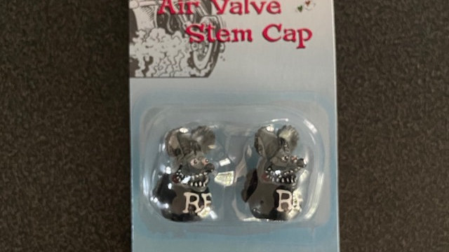 RATFINK Valve Stem Caps (Black)