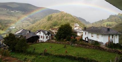 La Magdalena bajo un arcoiris