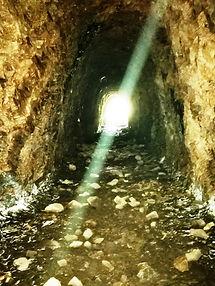 Ruta del Oro - Interior de la galería romana