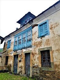 Casa de García de Comba, en Besullo