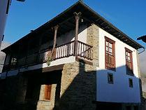 La casa donde se ubicó en 1935 el Círculo de Cultura y Recreo de Besullo, en la actualidad