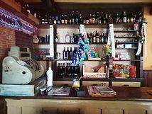 Casa Manón, en Besullo (Cangas del Narcea). Interior. Zona de la antigua tienda