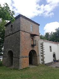 Santuario del Acebo. Vista exterior.