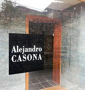 Cristalera exterior del Centro de Recepción de Visitantes Alejandro Casona de Besullo