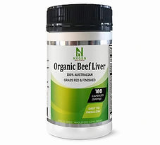 Grass Fed Beef Liver - NXGEN Wholefoods