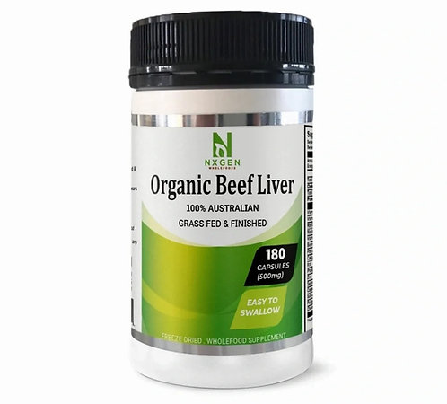 Grass Fed Beef Liver - NXGEN Wholefoods