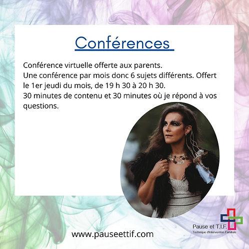 Conférence virtuelle
