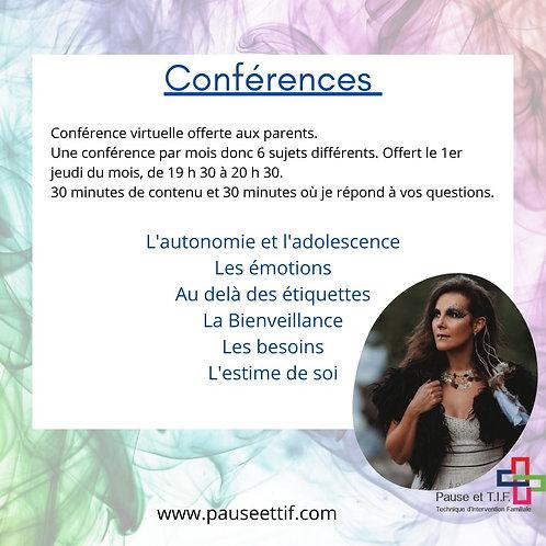 Conférences Virtuelles