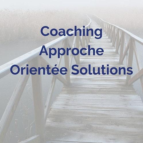 Coaching Approche Orientée Solutions