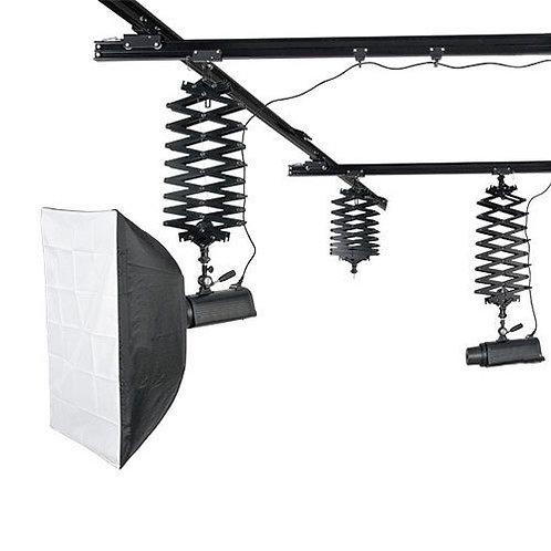 Overhead Pano Rail System 4 x pano