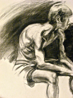Charcoal sketch