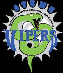 ATEMS Vipers Mascot Logo