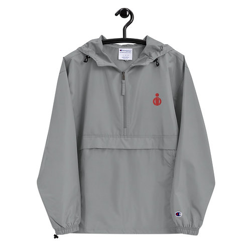 CJ Embroidered Packable Jacket