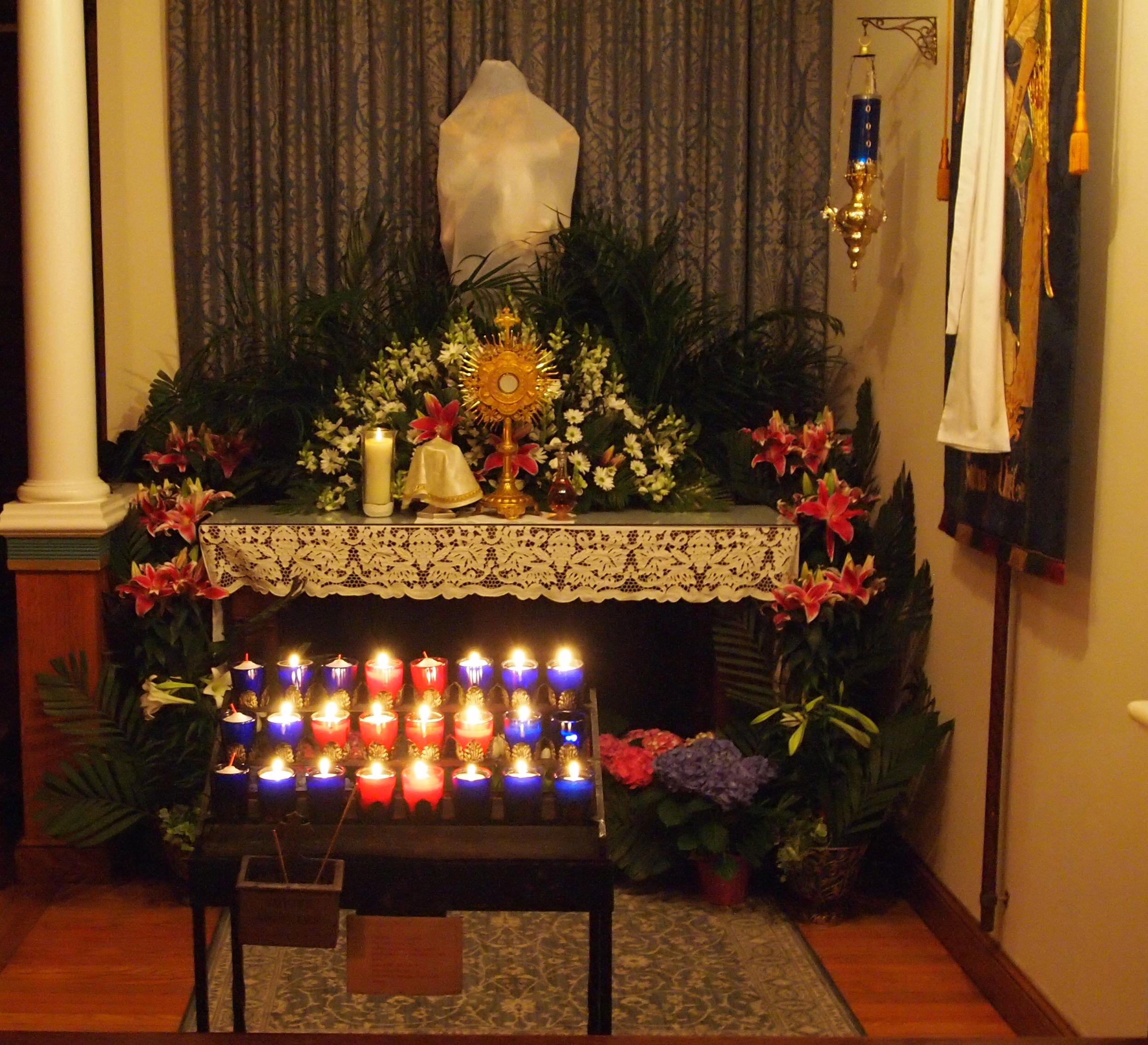 Lady Chapel: Maundy Thursday