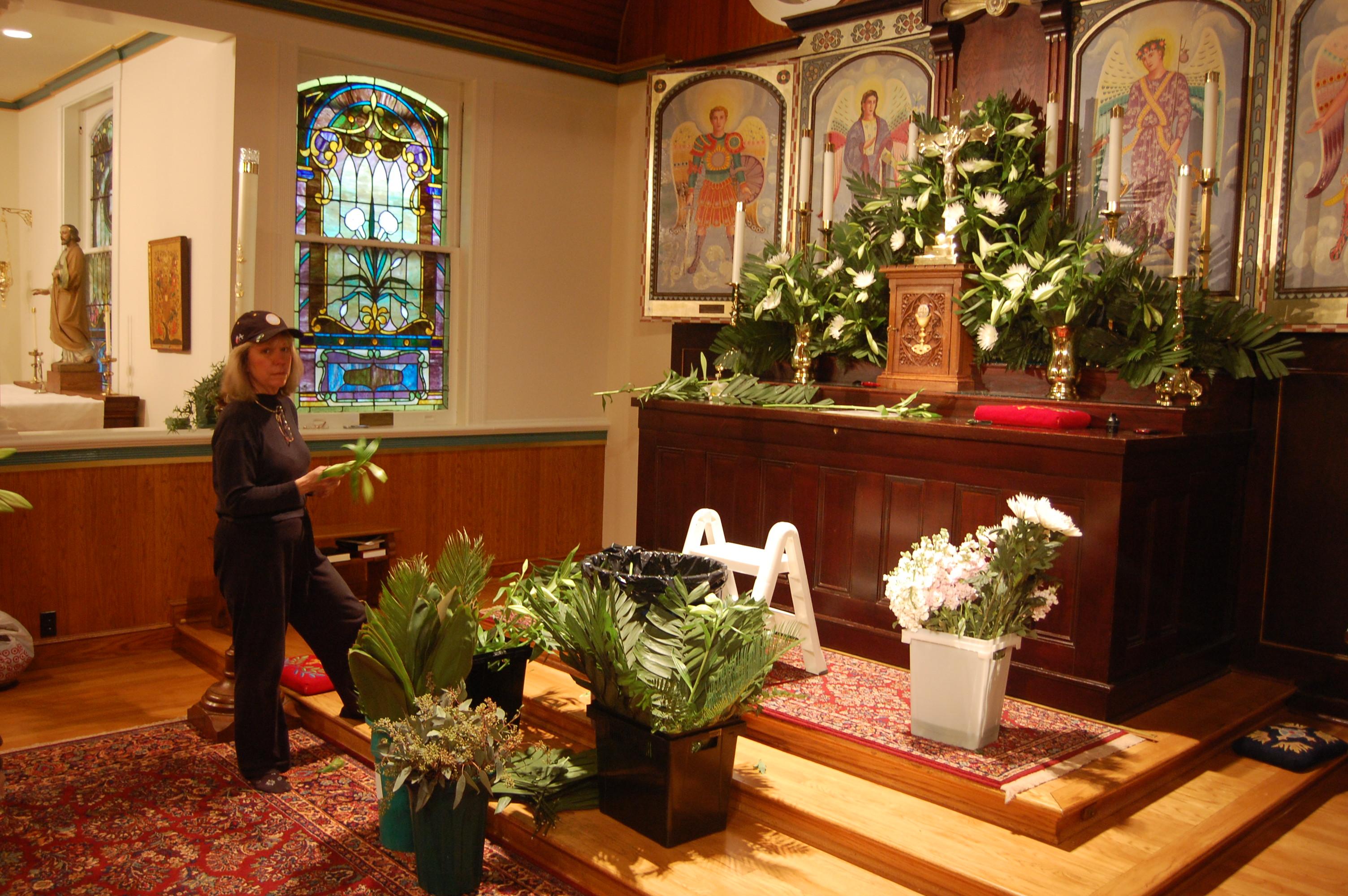 Flower Guild: Easter Preparations