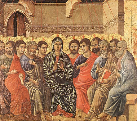 Pentecost Duccio.jpeg