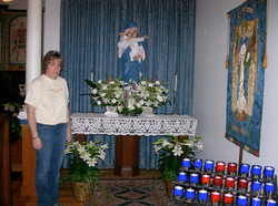 Lady Chapel: Easter