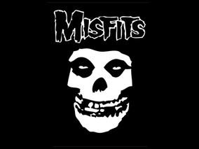 The Curse of The Misfits Skull Logo