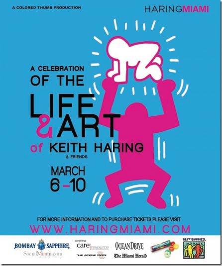 Haring Miami flyer
