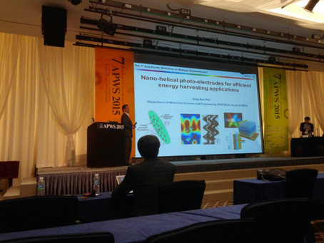 2015 The 7th Asia-Pacific Workshop on Widegap Semiconductors (APWS 2015)