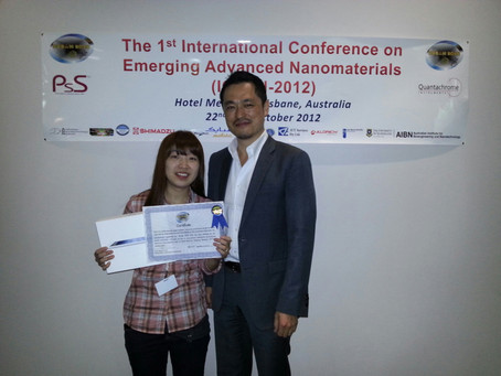 2012 1st International Conference on Emerging Advanced Nanomaterials