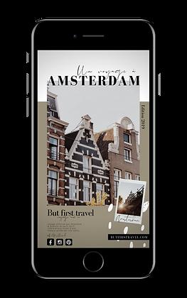 Un voyage à Amsterdam