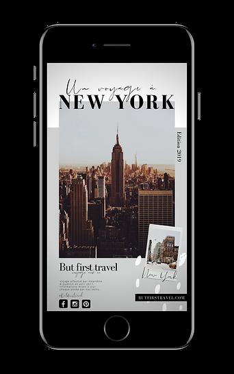Un voyage à New York