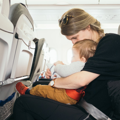 Occuper son bébé durant un long courrier