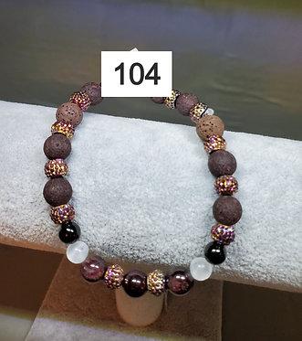 Garnet Diffuser Bracelet