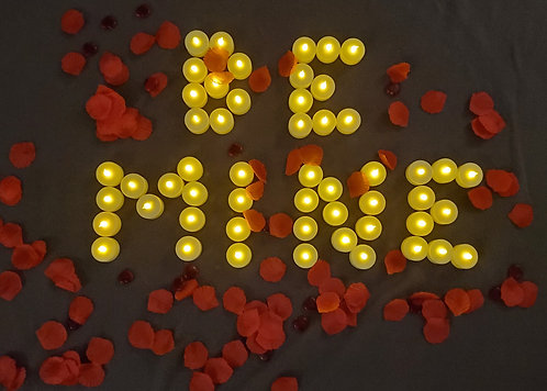 Be Mine Candles