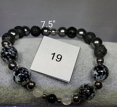 Full Chakra Charm Bracelet