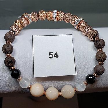 Orange Moonstone Bracelet