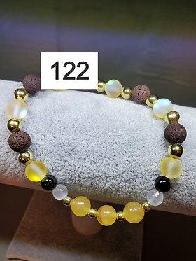 Yellow Calcite Diffuser Bracelet