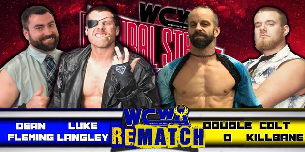 Dean Fleming & Luke Langley vs Double D & Colt Killbane