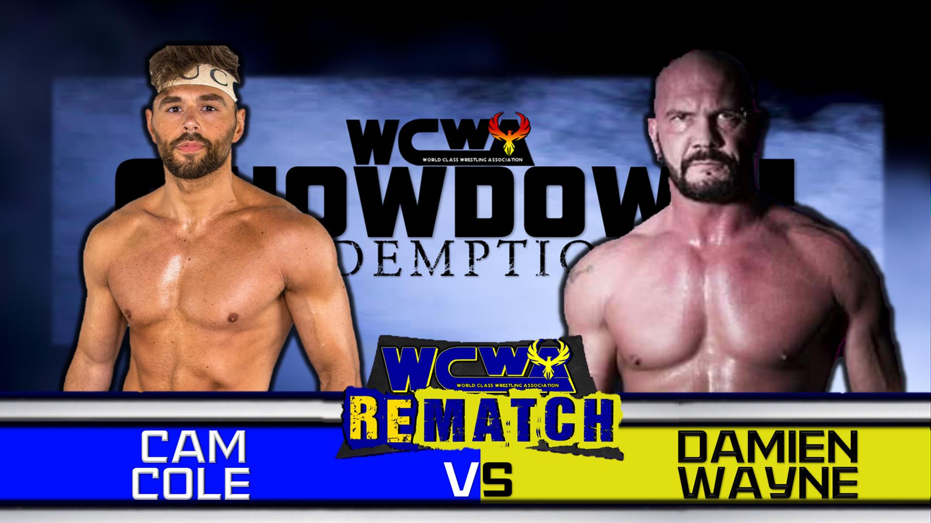 Damien Wayne vs Cam Cole