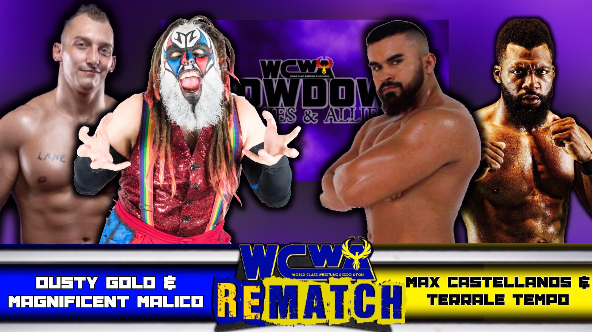 Gold N Clown Connection vs Terrale Tempo & Max Castellanos