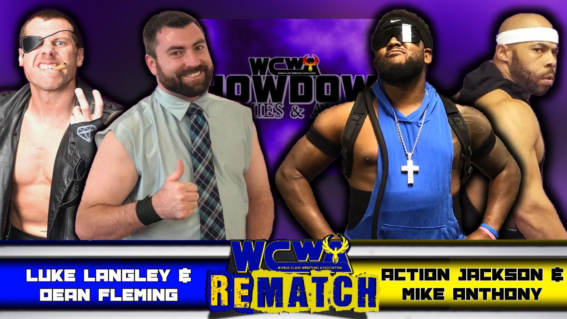 Rematch Luke Langley & Dean Fleming vs The OMGs