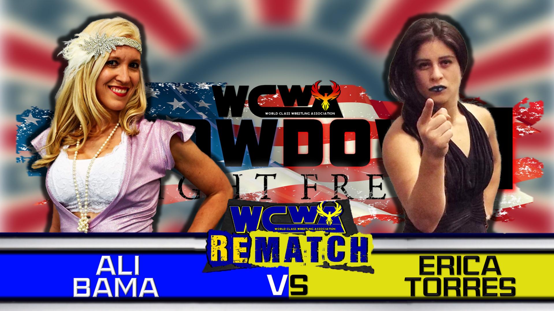 Ali Bama vs Erica Torres