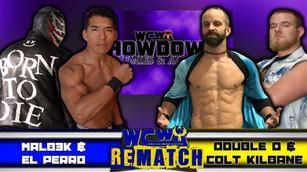 Malb3k & El Perro  vs Colt Killbane & Double D