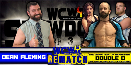 Dean Fleming vs Double D w/ Erica Torres & Colt Killbane