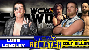 Luke Langley vs Colt Killbane w/ Erica Torres & Double D