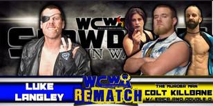 Luke Langley vs Colt Killbane w/ Erica Torres & Double D