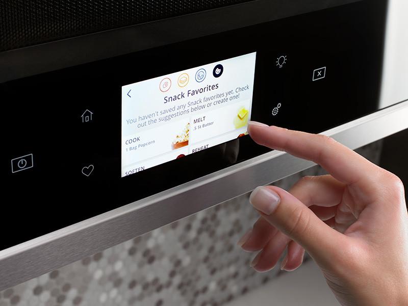 Microwave HMI + LCD interface