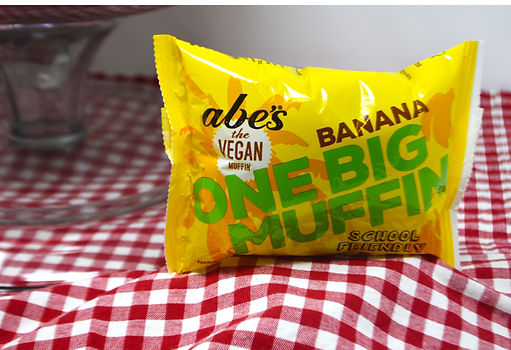 Take our brand new one BIG banana muffin with you anywhere, any time!