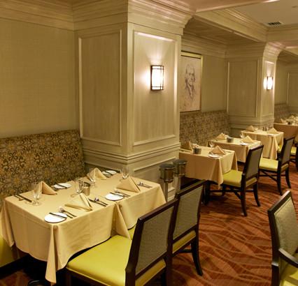 City Club Washington DC Painted Strie Te
