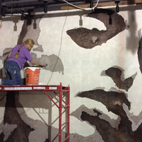 Mural nando Peri Peri restaurant, Wheato