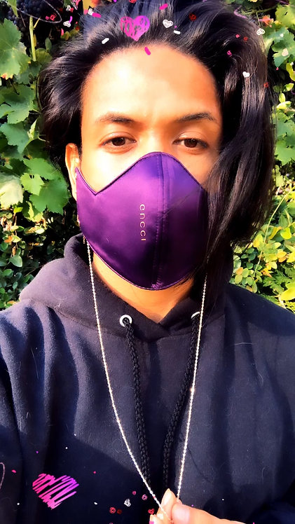 Gucci Grape Face Mask