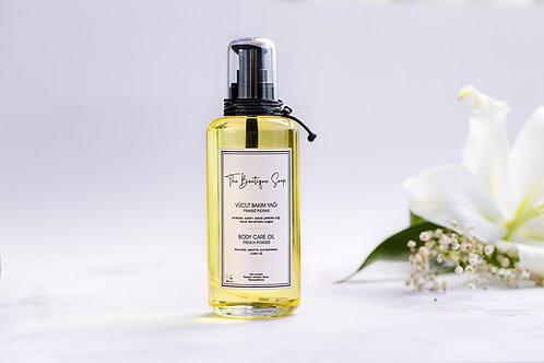 The Boutique Soap Fransız Pudralı Vücut Bakım Yağı 200ml
