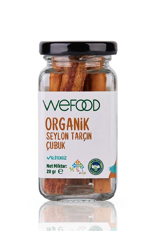 Wefood Organik Seylon Çubuk Tarçın 20gr
