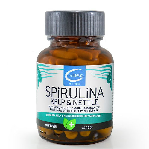 The Lifeco Spirulina Kelp Nettle (60 Kapsül)